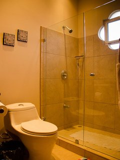 Private bathroom with shower for the second guest room