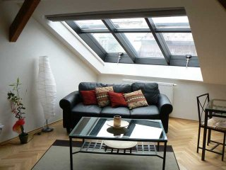 Vinohrady Duplex Penthouse with great terraces and views of Prague