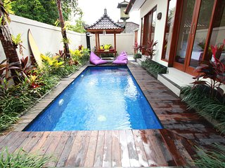 Villa 707 3 BR Private pool 5 minutes walk to the beach Batu Belig