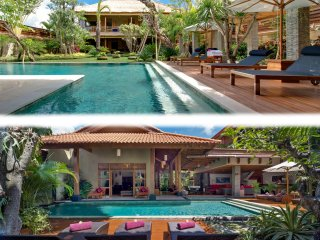 Kinaree Estate, Luxury 9 Bedroom Villa by the Beach, Seminyak