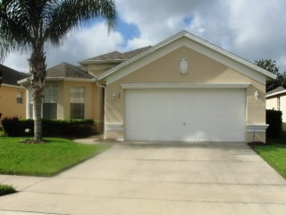 Calabay Parc at Tower Lake 4/3 Pool Home property, fully furnished, with full kitchen, and all linens and towels.