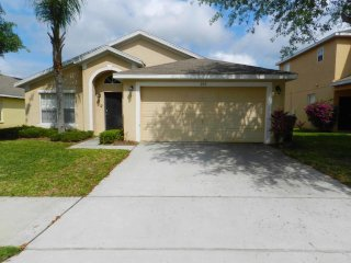 This is a Pool Home property, fully furnished, with a full kitchen, and has all linens and towels, located at Sandy Ridge Community.