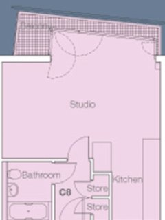 Floorplan showing layout