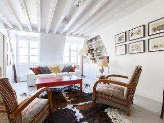 Large apartment in heart of Paris
