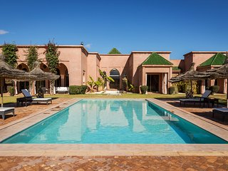 Luxueuse villa marocaine dans domaine privé