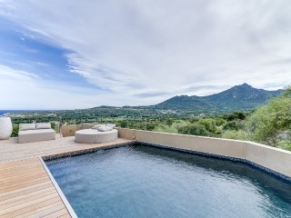 Designer villa between sea and mountain, Calvi