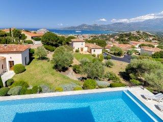 Villa grand style vue mer