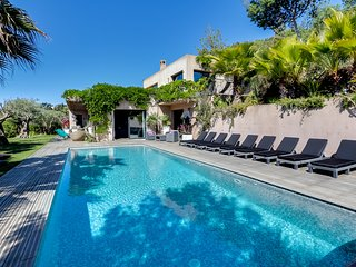 Tropical paradise on the Saint Tropez peninsula, La Croix-Valmer
