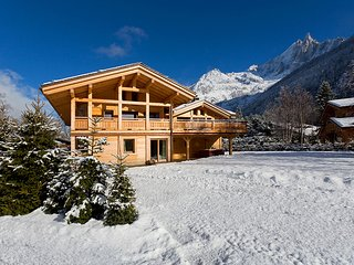 Magnificent chalet with view of the summit, Chamonix