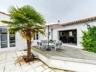 Accueillante maison familiale proche de la plage, Le Bois-Plage-en-Re