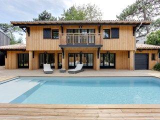 Villa avec piscine au pied du phare, Lege-Cap-Ferret