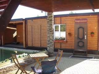 Bungalow Impression with private sauna beside Peterhof and Pulkovo airport