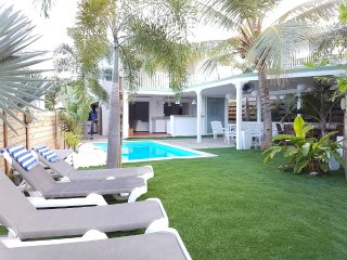 Villa Piscine privée 4 chambres, Orient Bay