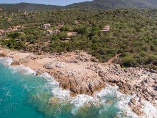 Villa nature et bord de mer, Olmeto