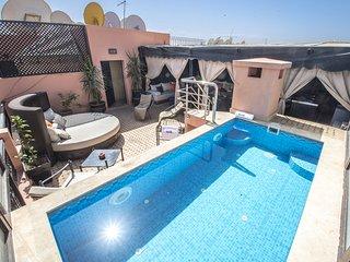 Duplex avec rooftop et piscine privée