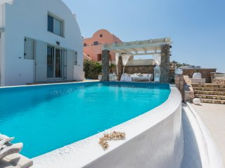 Greek Island Villa on Santorini  - Akrotiri Residence