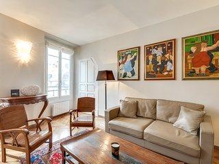Deux-pièces pour deux à Saint-Germain-des-Prés