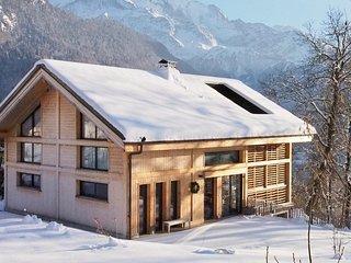 Chalet design et nature, vue Mont-Blanc