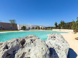 606 Apartment with Pool at 250 Meters from Beach in Otranto
