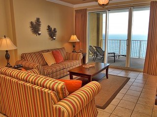 Tropic Winds 2302 is 2 Bedroom / 2 Bath, 23rd floor, Gulf-front penthouse