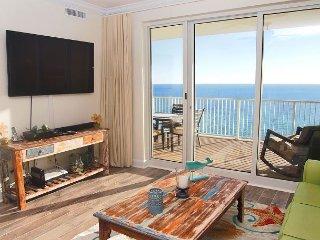 GULF FRONT CONDO in Ocean Reef- Huge Balcony w/ amazing views! FREE BEACH SVC, Panama City Beach