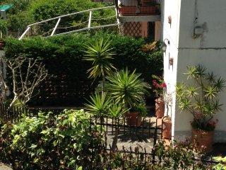 Appartamento centrale con ampio giardino
