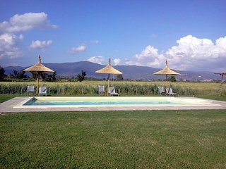 La Rugantina, Tuscan Farmhouse with large swimming pool, Creti