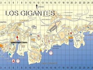 Los Gigantes,  spacious 1 bed apartment (sleeps 4)