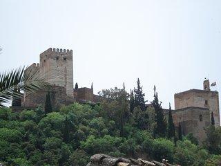 Albaycin, vista Alhambra, piscina, jardín, max 4