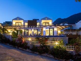 Villa Lycia seaview is 4 bedroom luxury rental villa Turkey with pool