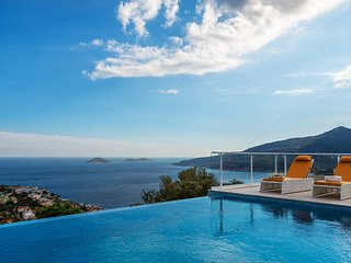 Villa Kalkan Chremado is 3 bedroom luxury villa in Kalkan with pool and seaview