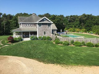 CLAKA - Outstanding Katama Home,  Heated Pool, Bike Paths lead directly to Sout, Edgartown