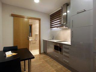 Economic and spacious studio apartment.