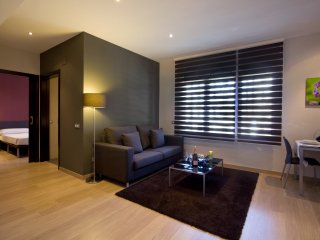Located in a beautiful place of hte Gran Via in Barcelona