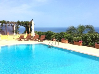 SEA VIEW VILLA MATIS  Private Pool +Terrace Taormina
