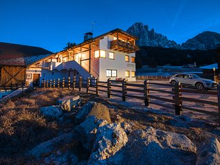 Two-Bedroom Apartment with Terrace B - Cesa Pana Mountain Lodge, Santa Cristina Valgardena