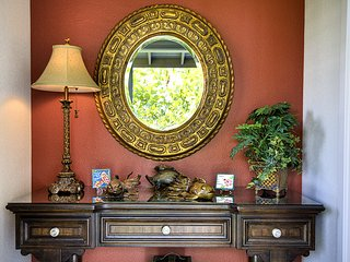 Inviting front foyer.