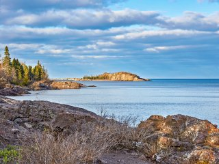 NEW! Cozy Schroeder Studio on Lake Superior!