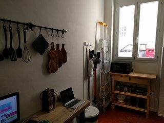 Entrée port Vauban - Ground floor holiday apartment, Juan-les-Pins