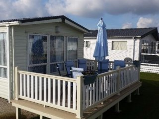 FLOWERSOFCARAVANS GOLD GRADED CARAVAN FOR HIRE ON THE FIVE STAR LEISURE PARK