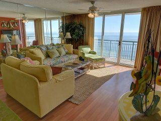 Luxury 14th floor 3BR/3BA oceanfront condo at Wind