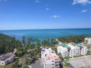 Bahia Serena beachfront garden apartment, free WiFi, screens, walk to the beach, Cabo Rojo