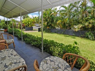 Front Verandah screened from the street by palms