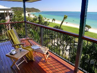 Beautiful beachfront home - a hop, a step & a jump to the water., Tangalooma