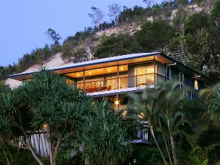 Beautiful beachfront home - a hop, a step & a jump to the water.