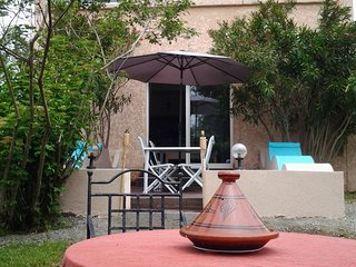 Magnifique maison  2chms 4/6 pers avec jardin piscine entre Mer& Montagne, Ghisonaccia
