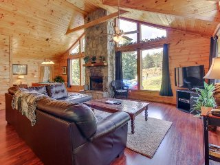 Updated cabin-style mountain home w/ sauna, private hot tub, dogs OK!, Sautee Nacoochee