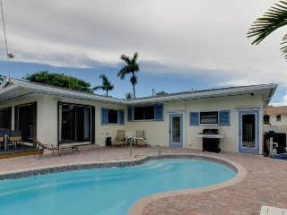 Dog-friendly beach home w/ a swimming pool, 75-foot dock, and ocean access!