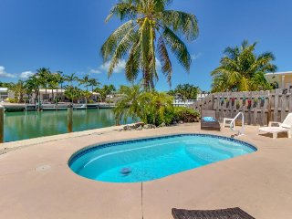 Dog-friendly waterfront home w/ private pool & 33-ft dock