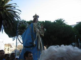 Procession of St. Mary of the Assumption: a much venerated image in Gaeta on second August Sunday.